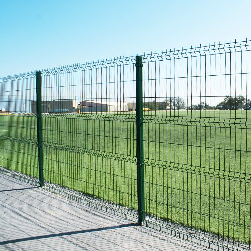 3D Curved Wire Mesh Fence3