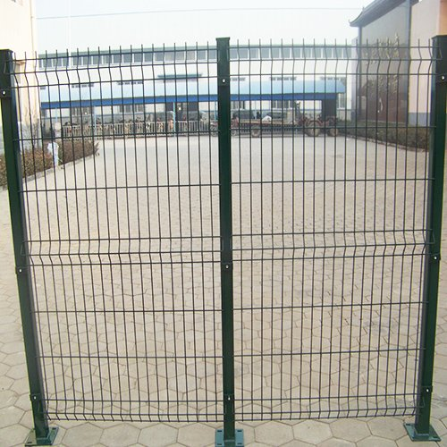 3d Curved Wire Mesh Fence 3