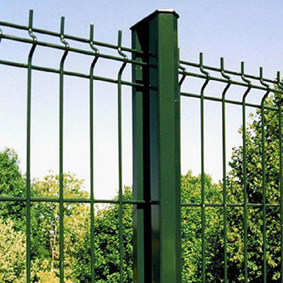 3d Curved Welded Wire Mesh Fence